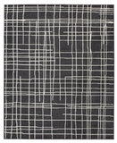 Shop Ashley Furniture Jai Black/White Large Rug at Mealey's Furniture