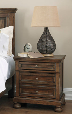 Shop Ashley Furniture Flynnter Two Drawer Night Stand at Mealey's Furniture