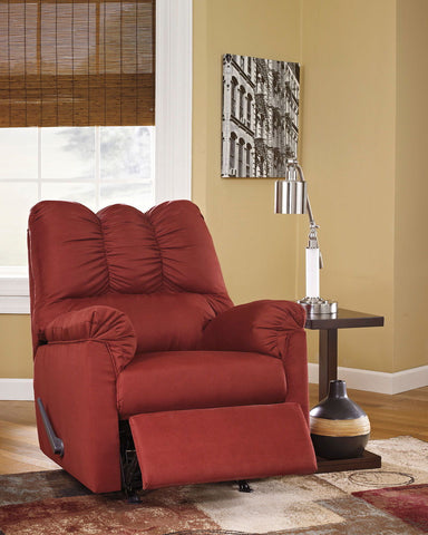 Shop Ashley Furniture Darcy Salsa Rocker Recliner at Mealey's Furniture