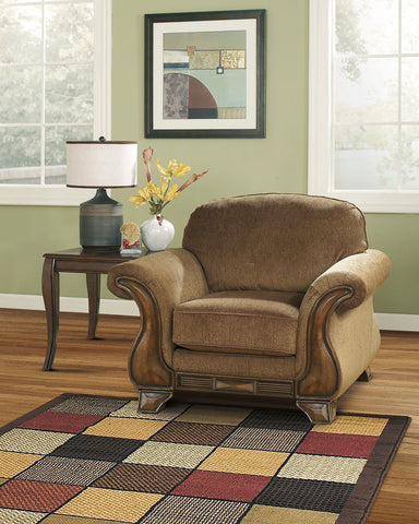 Shop Ashley Furniture Montgomery Mocha Chair at Mealey's Furniture