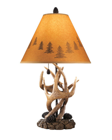 Shop Ashley Furniture Derek Brown Poly Table Lamp (2/CN) at Mealey's Furniture