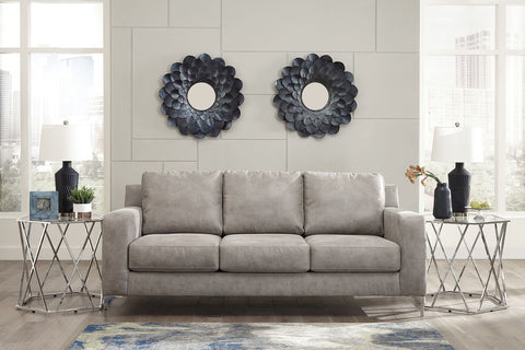 Shop Ashley Furniture Ryler Steel Sofa at Mealey's Furniture