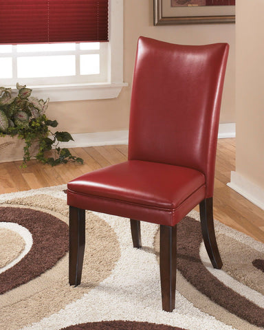 Shop Ashley Furniture Charrell Side Chair Rta Red at Mealey's Furniture