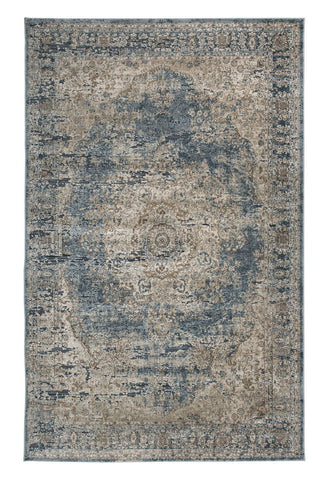 Shop Ashley Furniture South Blue/Tan Medium Rug at Mealey's Furniture