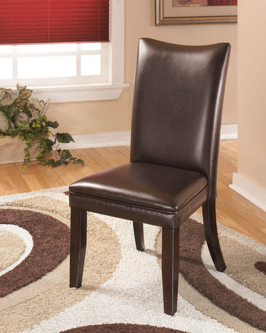 Shop Ashley Furniture Charrell Side Chair Rta Brown at Mealey's Furniture