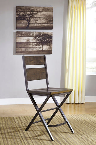 Shop Ashley Furniture Kavara Medium Brown Barstool at Mealey's Furniture