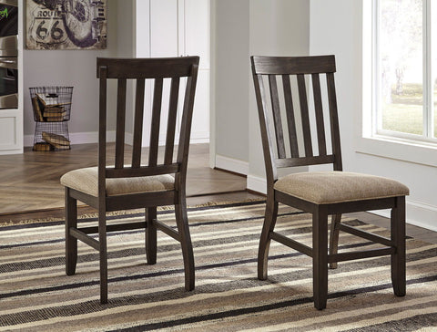 Shop Ashley Furniture Dresbar Cream Dining Uph Side Chair at Mealey's Furniture