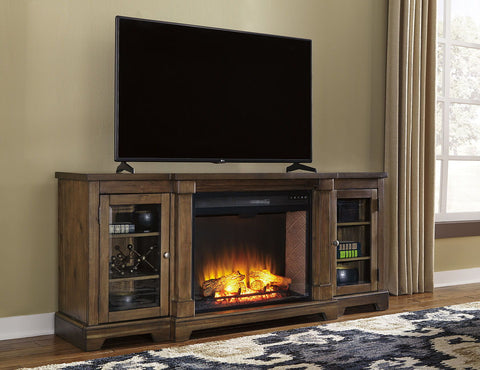 Shop Ashley Furniture Flynnter Xl Tv Stand at Mealey's Furniture