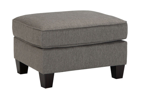Shop Ashley Furniture Brindon Ottoman   Charcoal at Mealey's Furniture