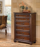 Shop Ashley Furniture Leahlyn Five Drawer Chest at Mealey's Furniture