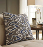 Shop Ashley Kenley- Blue/Brown Pillow at Mealey's Furniture