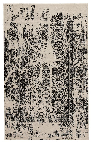 Shop Ashley Furniture Jag Black/White Medium Rug at Mealey's Furniture