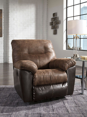 Shop Ashley Furniture Follett Coffee Rocker Recliner at Mealey's Furniture