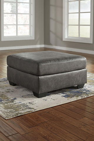 Shop Ashley Furniture Bladen Slate Oversized Accent Ottoman at Mealey's Furniture
