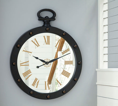Shop Ashley Furniture Juan Wall Clock at Mealey's Furniture