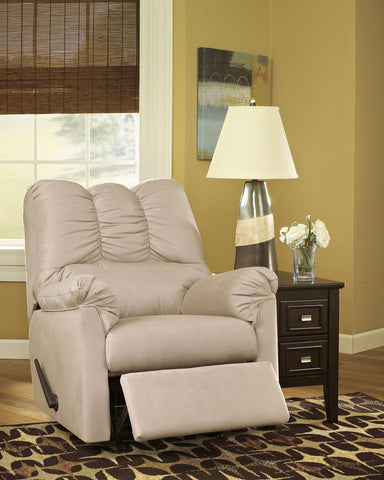 Shop Ashley Furniture Darcy Stone Rocker Recliner at Mealey's Furniture