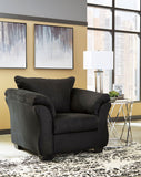 Shop Ashley Furniture Darcy Black Chair at Mealey's Furniture