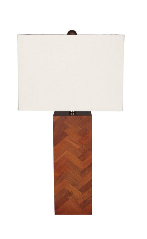 Shop Ashley Furniture Tabeal Brown Wood Table Lamp (1/CN) at Mealey's Furniture