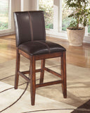 "Shop Ashley Furniture Larchmont 24"" Upholstered Barstool at Mealey's Furniture"