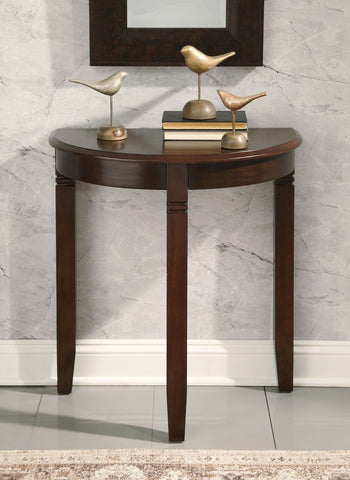 Shop Ashley Furniture Birchatta Rich Brown Console Table at Mealey's Furniture