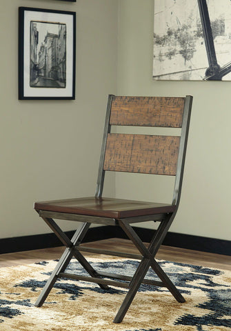 Shop Ashley Furniture Kavara Medium Brown Dining Room Chair at Mealey's Furniture