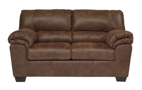 Shop Ashley Furniture Bladen Chocolate Loveseat at Mealey's Furniture