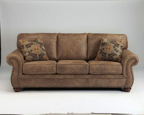 Shop Ashley Furniture Larkinhurst Earth Sofa at Mealey's Furniture