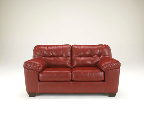 Shop Ashley Furniture Alliston Dura Blend Salsa Loveseat at Mealey's Furniture