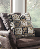 Shop Ashley Furniture Tillamook Black/Tan/Gray Pillow at Mealey's Furniture