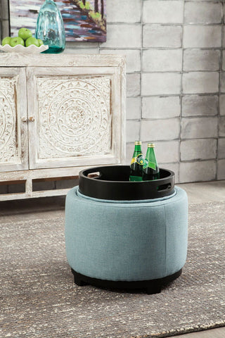 Menga Mist Ottoman With Storage