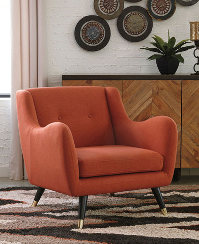 Menga Adobe Accent Chair