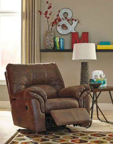 Shop Ashley Furniture Bladen Chocolate Rocker Recliner at Mealey's Furniture