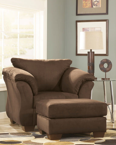 Shop Ashley Furniture Darcy Cafe Ottoman at Mealey's Furniture