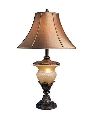 Danielle Bronze Finish Poly Table Lamp (2/CN)