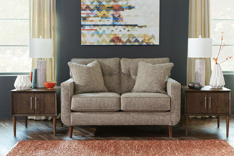 Shop Ashley Furniture Dahra Jute Loveseat at Mealey's Furniture