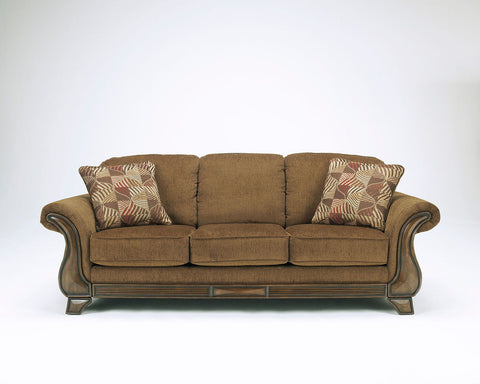 Shop Ashley Furniture Montgomery Mocha Queen Sleeper Sofa at Mealey's Furniture