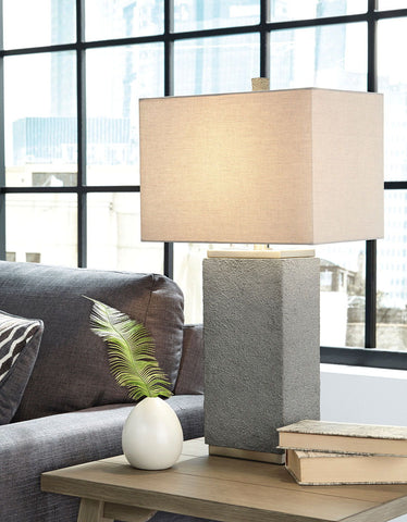 Shop Ashley Furniture Amergin Grain Poly Table Lamp (2/CN) at Mealey's Furniture