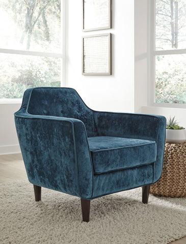 Shop Ashley Oxette-  Evergreen Accent Chair at Mealey's Furniture