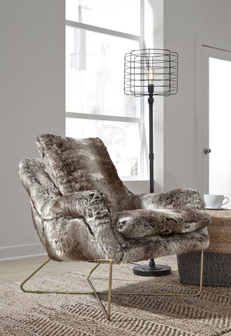 Shop Ashley Furniture Wildau- Gray Accent Chair at Mealey's Furniture