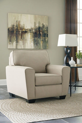 Shop Ashley Furniture Calicho Ecru Chair at Mealey's Furniture