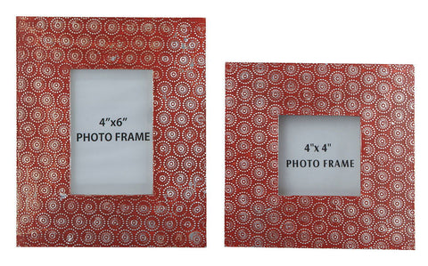 Shop Ashley Furniture Bansai Bansi Orange Photo Frame (set Of 2) at Mealey's Furniture