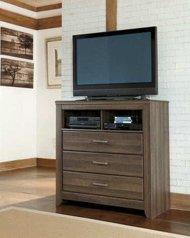 Shop Ashley Furniture Juararo 3 Drawer Media Chest at Mealey's Furniture