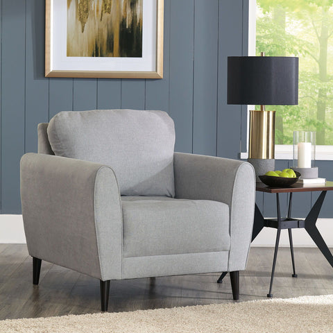 Shop Ashley Furniture Cardello Pewter Chair at Mealey's Furniture