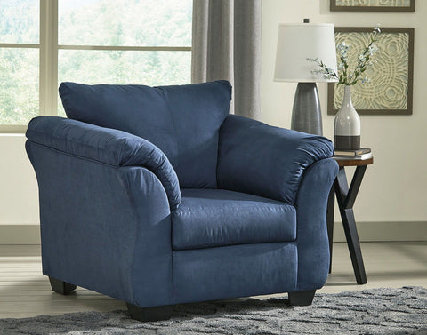 Shop Ashley Furniture Darcy Blue Chair at Mealey's Furniture