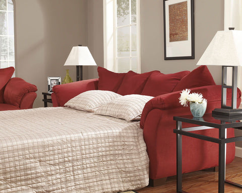 Shop Ashley Furniture Darcy Salsa Full Sleeper at Mealey's Furniture