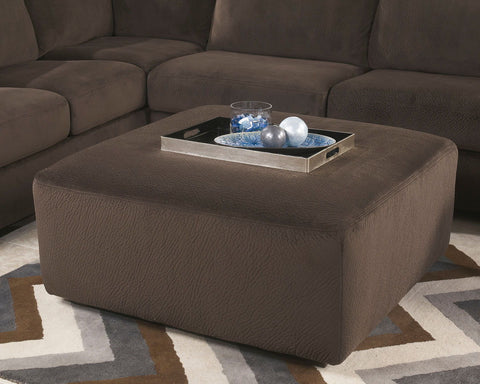 Shop Ashley Furniture Jessa Place Chocolate Oversized Accent Ottoman at Mealey's Furniture