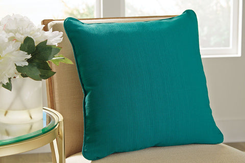 Shop Ashley Furniture Jerold- Turquoise Pillow at Mealey's Furniture