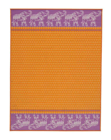 Maximus Orange Medium Rug