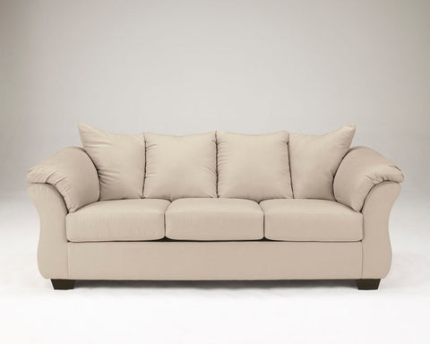 Shop Ashley Furniture Darcy Stone Sofa at Mealey's Furniture