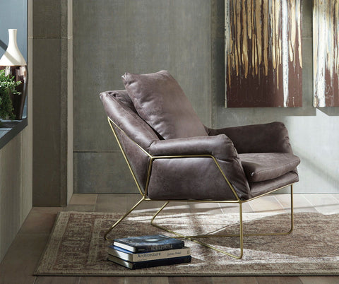 Shop Ashley Furniture Crosshaven Dark Gray Accent Chair at Mealey's Furniture